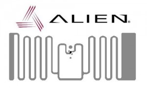 HiScan Inlay RFID UHF - Alien ALN 9720