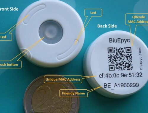 BluEpyc BLE Disk Beacon & Accessories