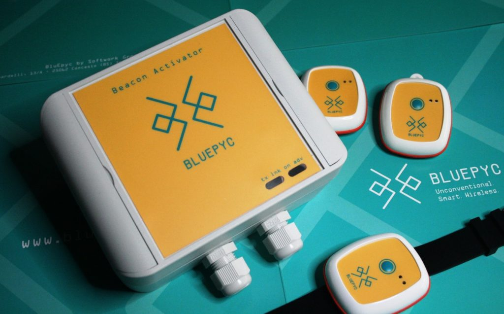 BluEpyc Beacon Activator Wake-up Bluetooth Low Energy system