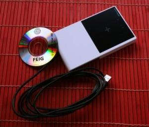 RFID Desktop Reader NFC RFID, banda HF (13,56 MHz) CPR40.30-USB ISO 14443-A/-B ed NFC