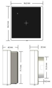 ID CPR02.10 - Reader RFID HF per controllo accessi by FEIG Electronic - Schema   Tecnico