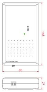 ISC.MR102 - Mid Range Reader RFID HF - Schema