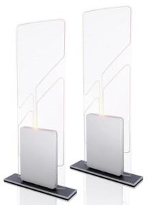 ISC.ANT1690/600-A. Crystal Antenna Gate RFID HF involontario omni direzionale 3D per controllo accessi, eventi e biblioteche.