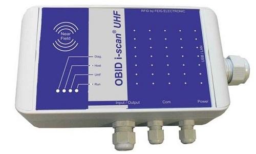 ISC.MRU200i - Industrial Mid Range Reader RFID UHF EPC con antenne integrate
