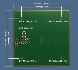ISC.ANT100_100 Antenna OEM RFID HF