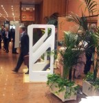 Antenna Gate RFID HF involontario omni direzionale 3D per controllo accessi in sala conferenza