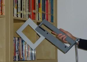 Mobile RFID Reader HF - ISC.PRH200 Blade - Inventory CD e DVD