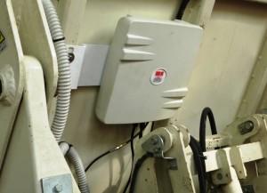Oberon 350 Gestione Raccolta Rifiuti RFID UHF