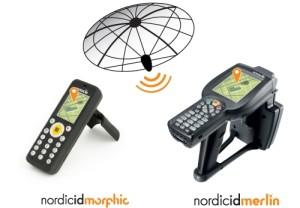 Mobile Computer Nordic ID Palmari RFID HF e UHF Morphic e Merlin con GPS