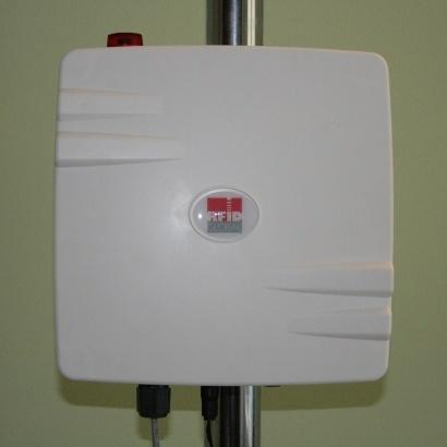 RED.A.MRU80.FLY - RedWave RFID UHF Antenna Reader Industriale con Smart FlyBoard CPU - fronte