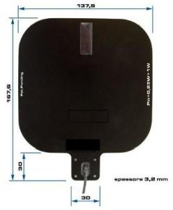 ID RED.ANT140/140. RFID HF RedWave OEM Paddle Antenna 140 x 140 mm.