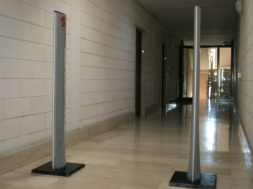 RED.SGU102-FLY Slim Gate RFID UHF RedWave Smart. Controllo accessi RFID. Interfacce: Ethernet - Wi-Fi - GSM/GPRS