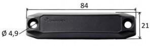 Dimensioni Hard Tag RFID On-Metal UHF Ironside Slim Confidex