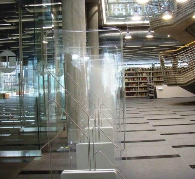 RFID Crystal Gate in library - RFID Global