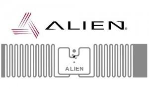 Smart Label RFID UHF EPC - Alien Squig - slider