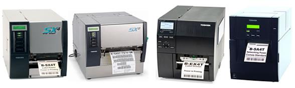 Famiglia Stampanti RFID Toshiba Tec - B-SA4T, B-SX4T, B-SX5T, B-EX4T. Moduli RFID HF (ISO 15693, ISO14443-A, ISO14443-B, Mifare, Calypso, NFC) e RFID UHF EPC ISO 18000-6