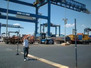 Test RFID al Porto di Cagliari