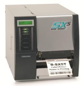 Stampante RFID Toshiba Tec B-SX5T printer Linea Industrial. Moduli RFID HF e RFID UHF EPC ISO 18000-6