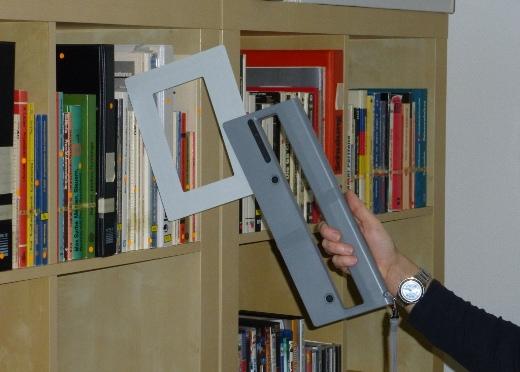 Wi-Fi Mobile Reader RFID HF ISC.PRH200 Blade - Inventari e ricerca libri, CD/DVD e documenti in librerie e archivi