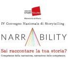 NARRABILITY, dove storytelling e tecnologia s'intrecciano
