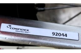 Confidex Silverline Slim – Special Label RFID UHF On-Metal
