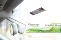 RFID UHF Confidex Windshield Label